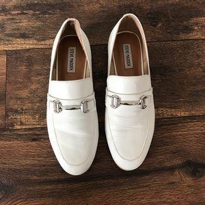 Steve Madden Shoes - Steve Madden Kerry White Loafers Flats